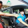 Driven to learn: Aveena Devi Krishna Kumar, 23, who is a paraplegic, taking driving lessons at Safety Driving Centre in Jalan Utara, Petaling Jaya, from driving instructor Tinesh Kumar Koppalai Kirnan, 31. — ART CHEN/The Star Read more at http://www.